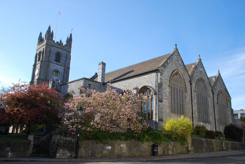 St Andrews Church, Plymouth.