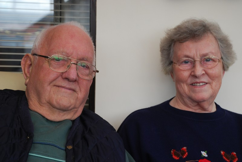Victor and Mavis Tearle, Lostwithiel.