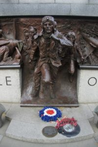 Battle of Britain Memorial near Westminster Tube Station