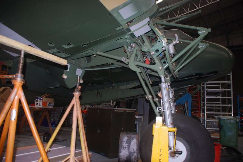 Bomb bay and undercarriage