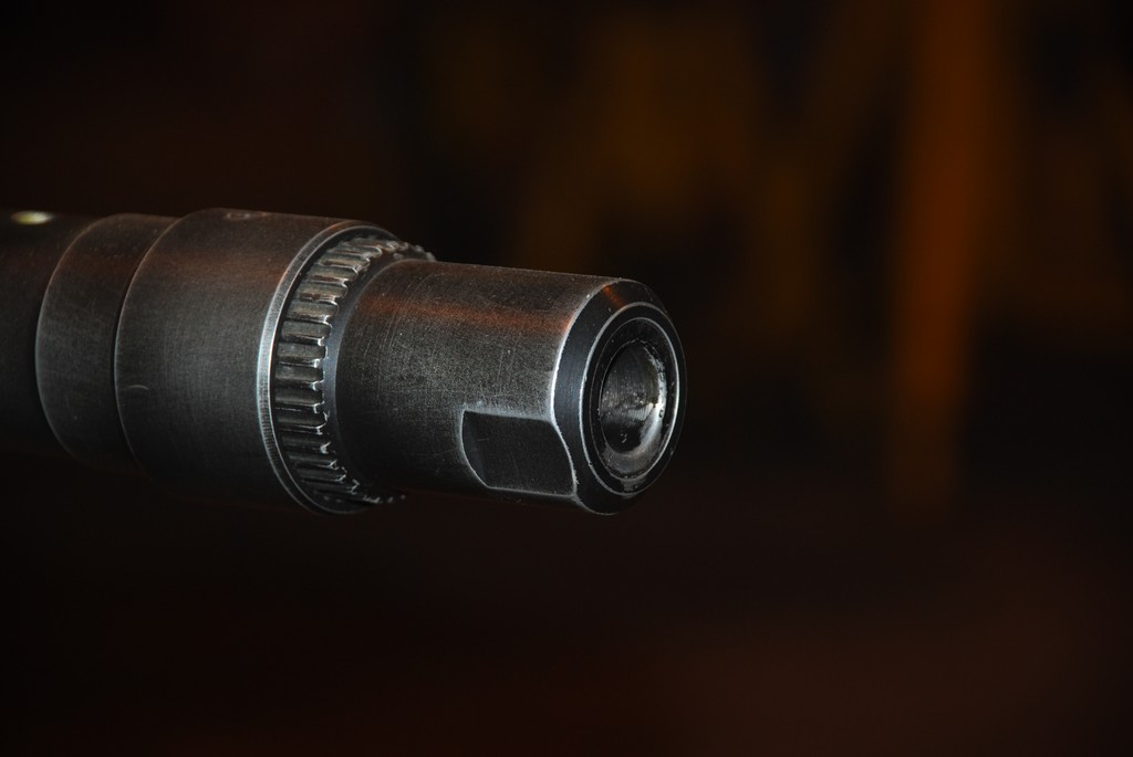 Hispano 20mm cannon muzzle.