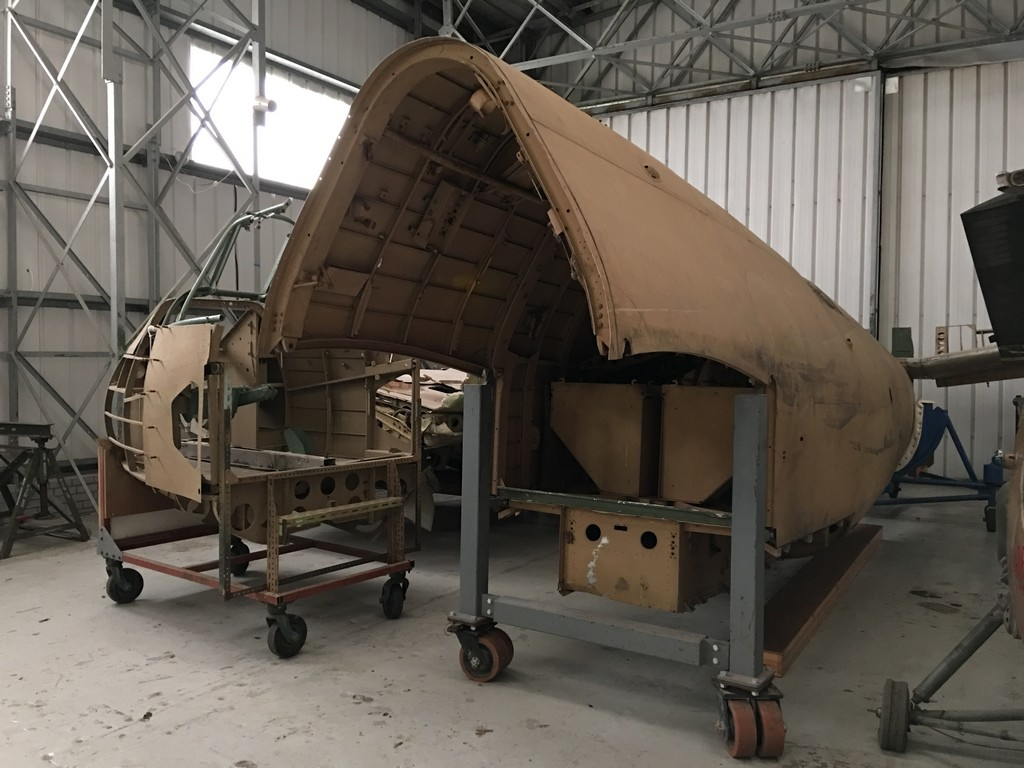 Fuselage section.
